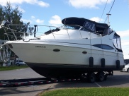 Carver flying bridge 35