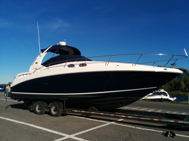 sea ray 32 pied