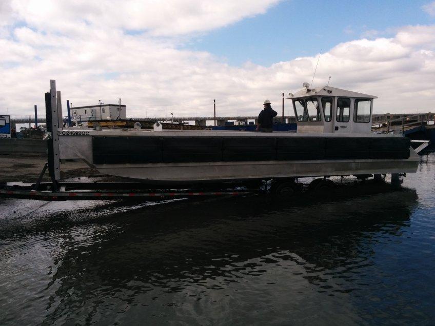 bateau aluminium