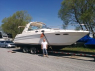 transport sea ray 31